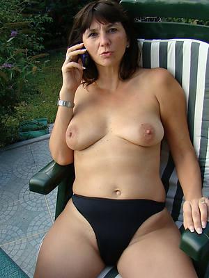 sexy hot grown-up women in soaked panties
