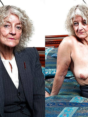 mature old upper classes perfect body