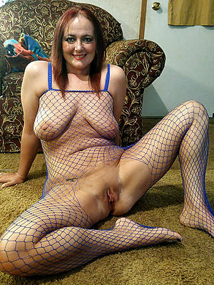 mature together with saggy tits stripped