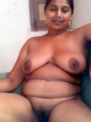 low-spirited indian mature pussy posing bared