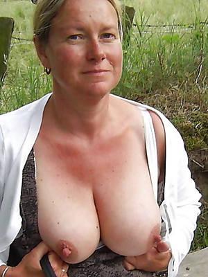 veritable mature women with distress nipples pics