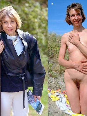 hotties milf dressed undressed photos