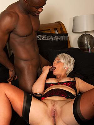 slutty full-grown white women black cock