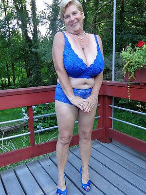 porn pics of mature main in lingerie