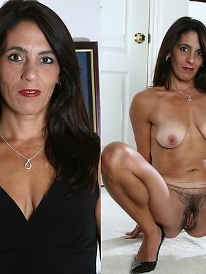 pornstar amateur dressed in one's birthday suit mature women