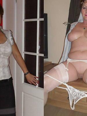 dressed undressed milf perfect body