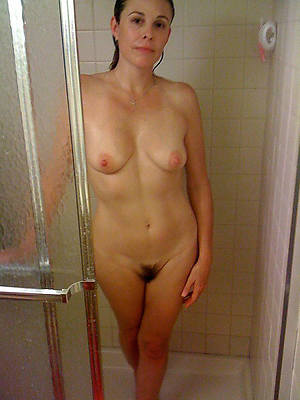 real mother mature in shower