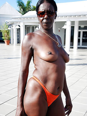 free porn pics be incumbent on mature black granny