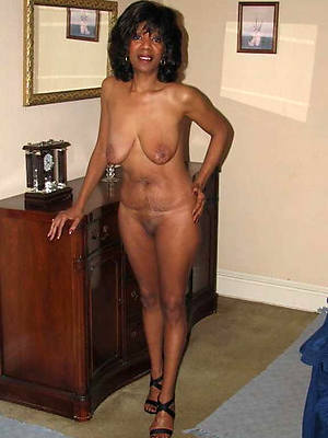 mature black moms posing nude