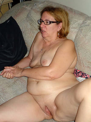 sweet nude of age with glasses