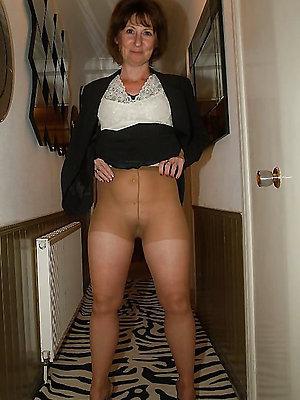 marvellous mature pantyhose porn