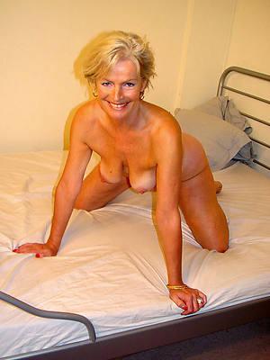 curvy grown-up blonde underthings