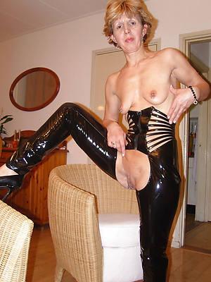 sexy mature latex dirty sex pics