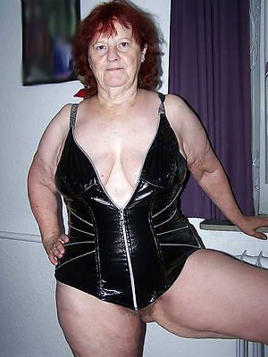 mature ladies in latex
