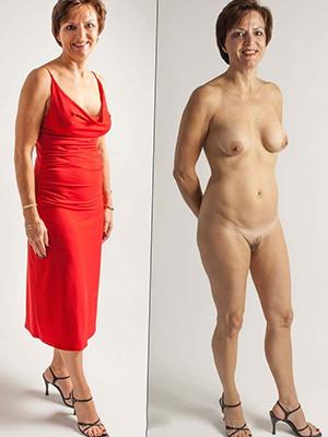 dressed undressed amateurs