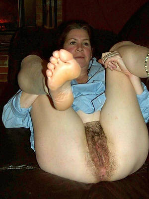 really mature hairy asses