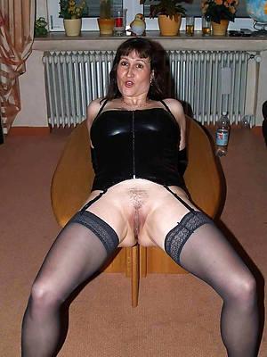 beautiful mature women in latex