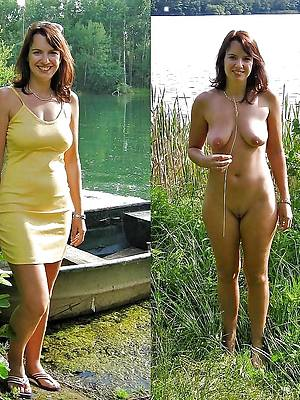 really mature dressed then undressed pics