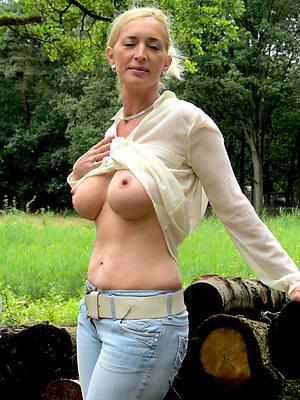 petite mature women in tight jeans