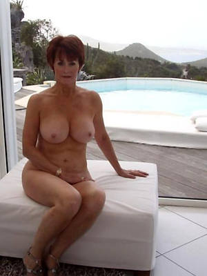 natural in one's birthday suit matures porn pix