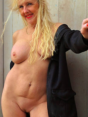 comely hot grown-up older women