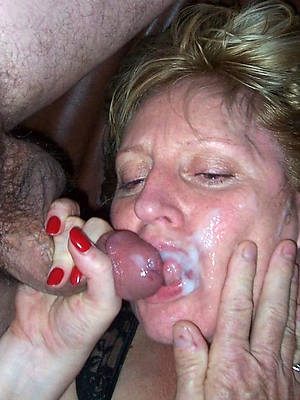 horny grown up facials porn