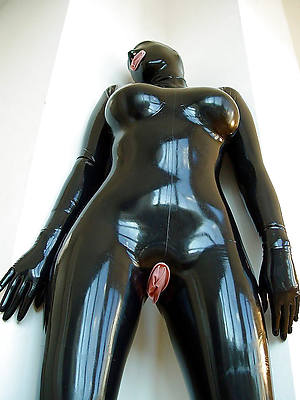 poisonous full-grown in rubber porn gallery