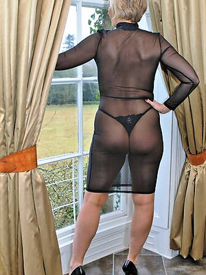 pulchritudinous morose mature lingerie photos
