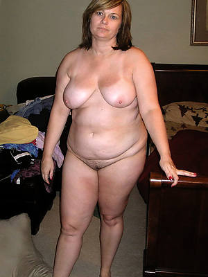 naked pics of sex-crazed thick white mature