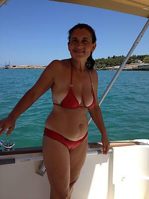 crestfallen beauty of age women in bikini pictures