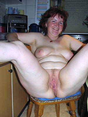 of age milf housewife displaying say no to pussy