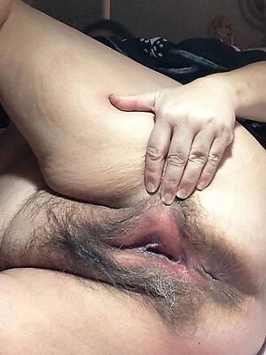 beautiful mature little pussy close up
