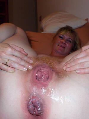 beautiful low-spirited mature vulva pics