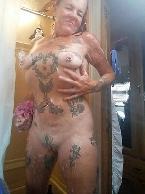 petite old women in the matter of tattoos Bohemian gallery