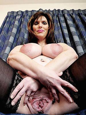 hot titillating older hairy vaginas