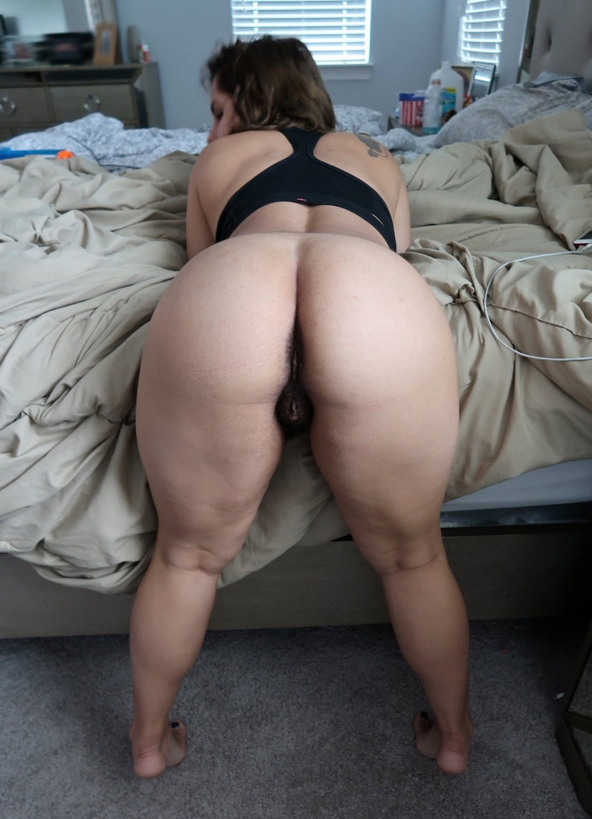 Chubby Big Ass White Girl