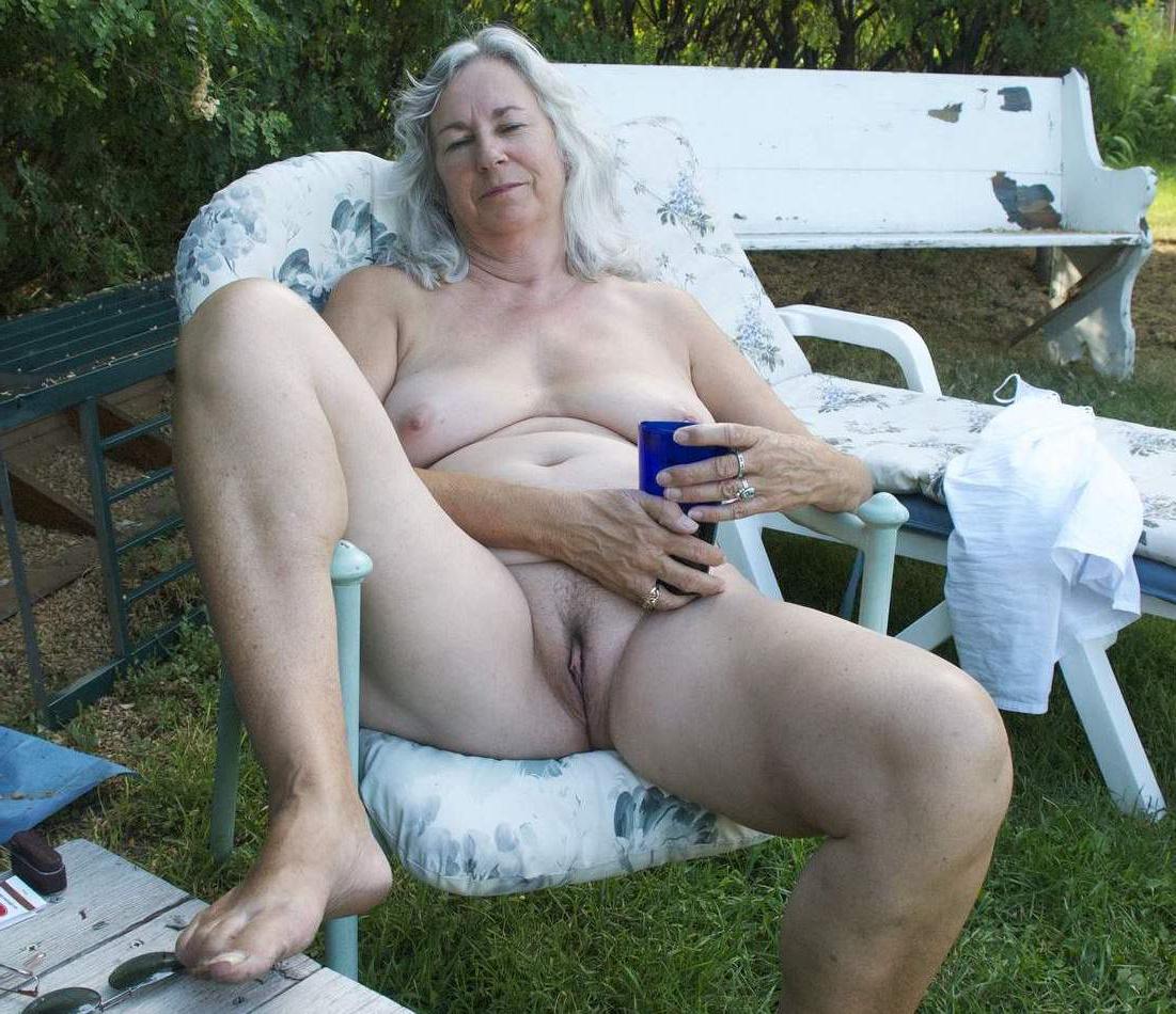 Naked grandma Would you