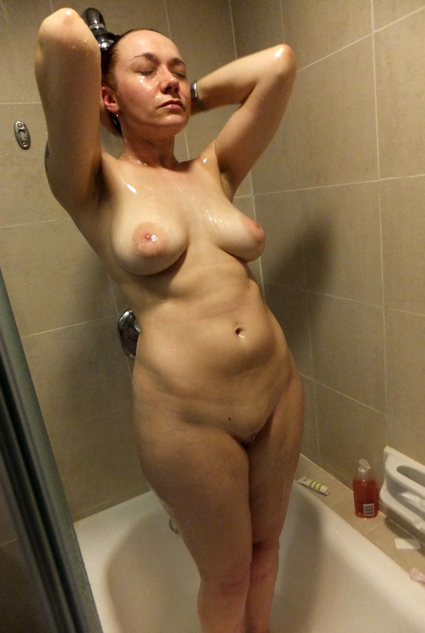 Mature shower