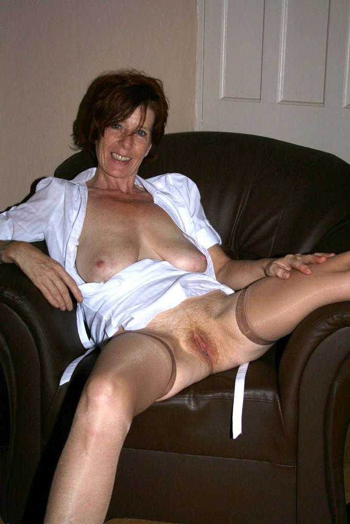 Older brunettes naked Brunette