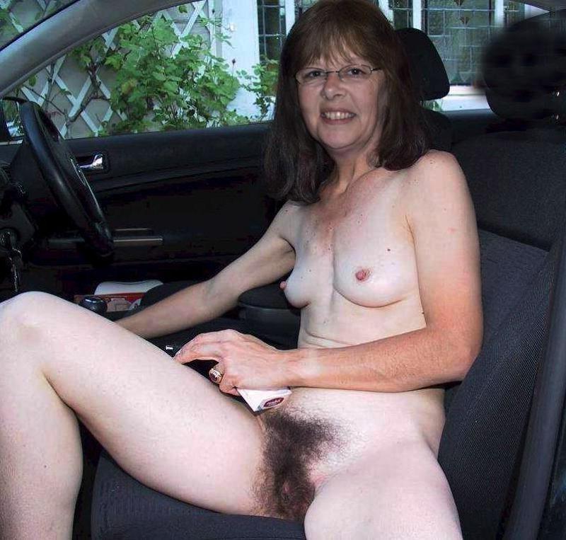 Mature Hairy Naked Women