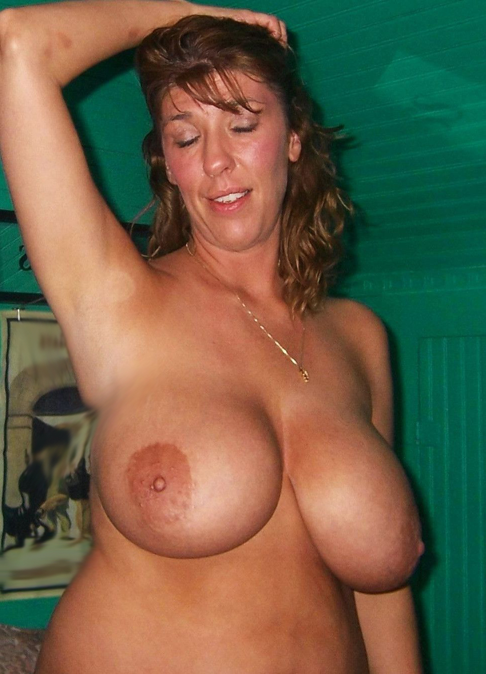 Huge Floppy Mature Tits