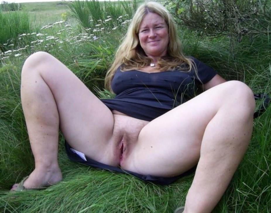 Mature outdoor porn
